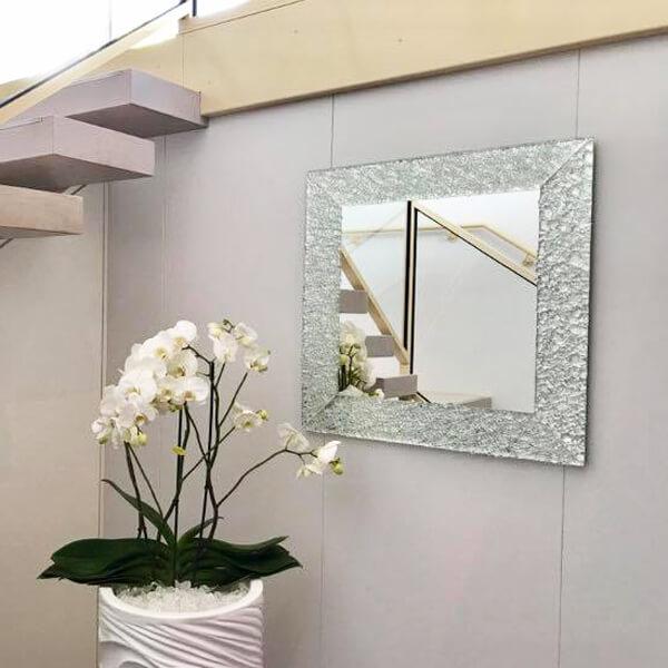 Design Spiegel Glasdekore Teufel