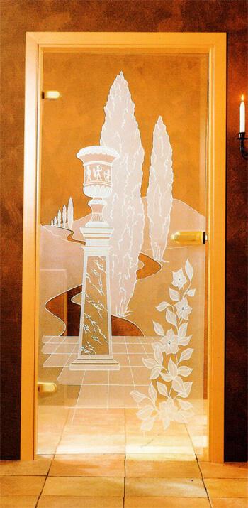 Glastüren mit Dekor - Glasdekore Teufel