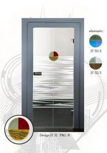 glastüren design