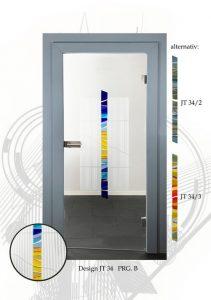moderne glastüren online shop