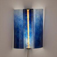wandlampe blau