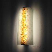 design wandlampe glas