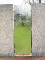 Sichtschutz Garten Glas