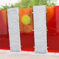 Abtrennungen glas