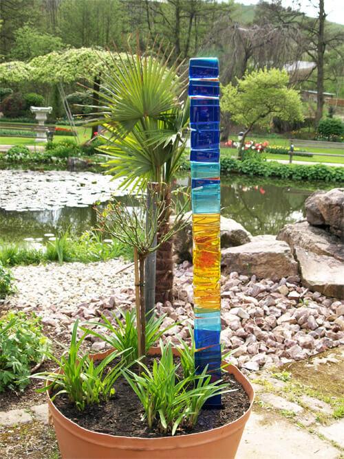 moderne Gartenstecker