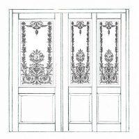 Holztüren mit Glas