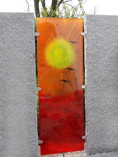Glas Zaunelemente Glasdekore Teufel