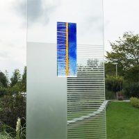 Stele Glas Detail