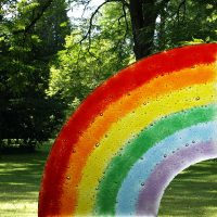 regenbogen glas