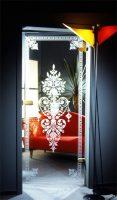 glastüren im landhaus stil