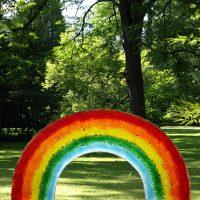 regenbogen für grabmal