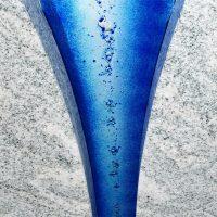 urnengrabstein glas