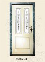antikglas für zimmertür