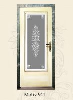 antikglas für innentüren
