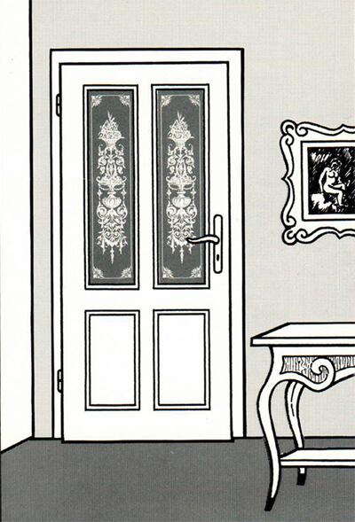 blick in die werkstatt glasdekore teufel. Black Bedroom Furniture Sets. Home Design Ideas