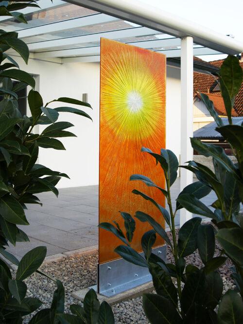 Gartenstele modern