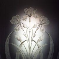 geätztes Glas