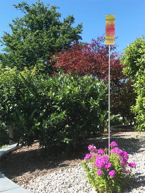 Gartenstecker Glasdekore Teufel