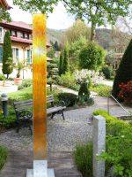 Gartenstele Sicherheitsglas