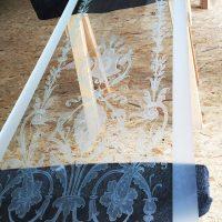 sandgestrahlte glasscheiben