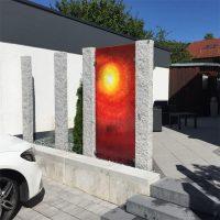 Sichtschutz-Glaskunst