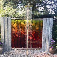 Abtrennung-Glaskunst