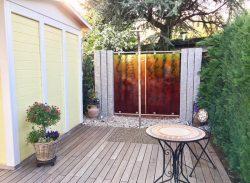 Sichtschutz-Terrasse