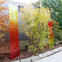 Glasobjekte-Garten