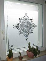 Glasdekor Fenster