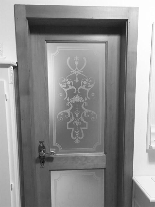 Glasmotive für Türen