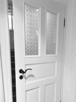 Stiltüren weiß mit Glas
