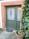 Haustüren grün
