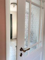 Stiltüren weiss mit Glasauschnitt
